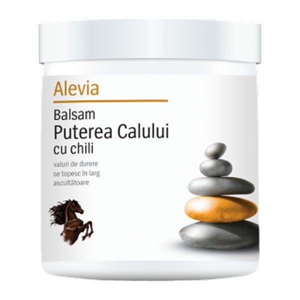 Balsam Puterea Calului cu Chili 250ml ALEVIA