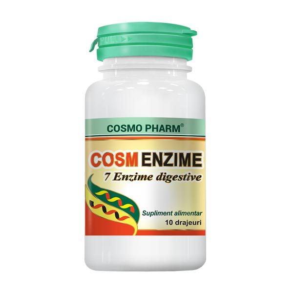 Cosm-Enzime (7 Enzime Digestive) 10drj CosmoPharm