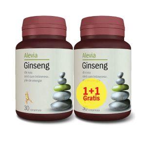 Ginseng Siberian Alevia 30cpr 1+1 Gratuit