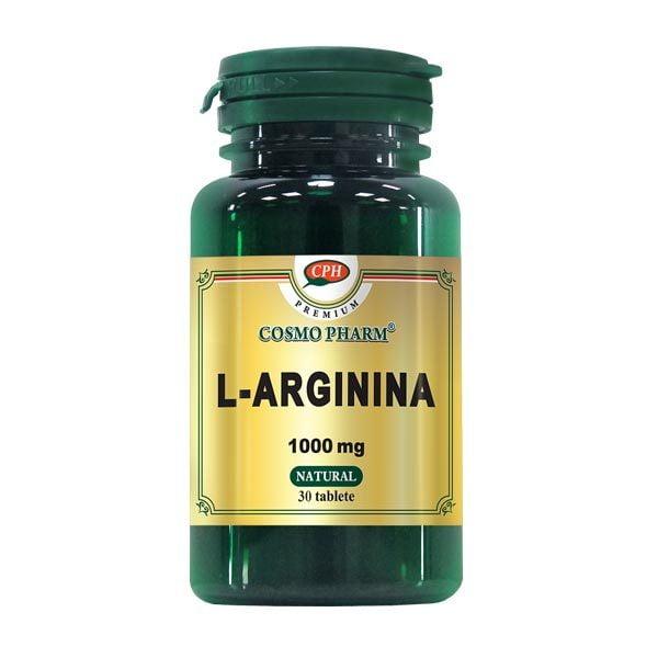 L-Arginina 100Mg Premium Cosmopharm 30tb