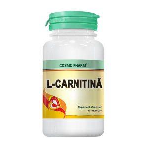 L-Carnitina 250Mg Cosmopharm 30cps