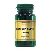 Luminita Noptii 1000Mg Premium Cosmopharm 30cps