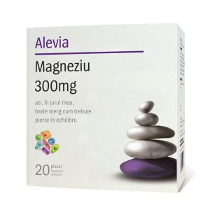 Magneziu 300mg Alevia 20dz
