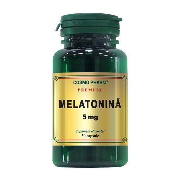 Melatonina 5mg Premium CosmoPharm 30cps