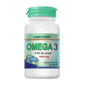 Omega 3 Ulei de Peste CosmoPharm 30cps