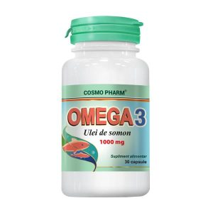 Omega 3 Ulei de Somon Cosmopharm 30cps