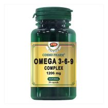 Omega 3*6*9 Complex 1206Mg Premium Cosmopharm 30cps
