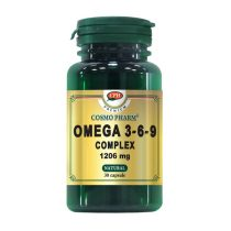 Omega 3 6 9 Complex Cosmopharm 1206Mg Premium 30cps