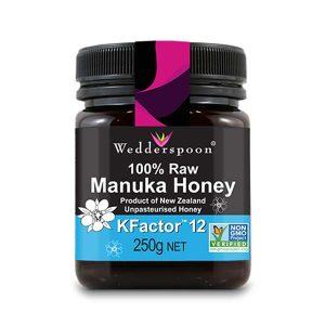 Miere de Manuka Kfactor 12 Raw 100% Naturala Wedderspoon 250g