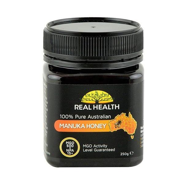 Miere Manuka MGO 500  Real Health (NPA 15+) 250g
