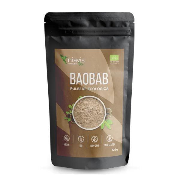 Baobab Pulbere Ecologica (Bio) NIAVIS 125g