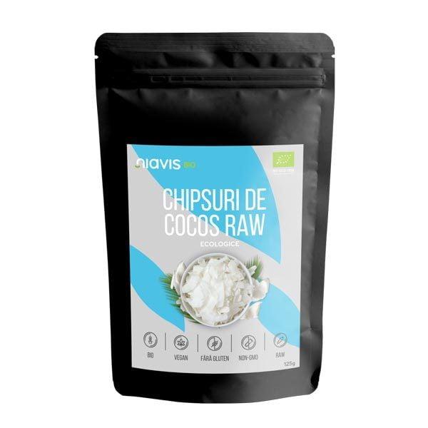 Chipsuri de Cocos Raw Ecologice NIAVIS 125g