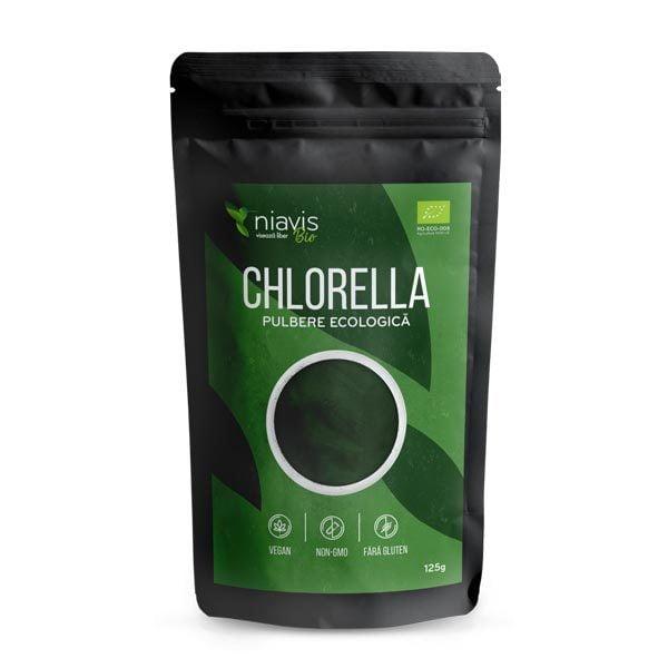 Chlorella Pulbere Ecologica (Bio) 125g NIAVIS