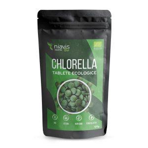 Chlorella Tablete Ecologice NIAVIS 125g