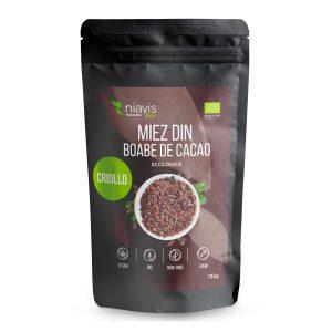 Miez Boabe Cacao Ecologice NIAVIS 125g