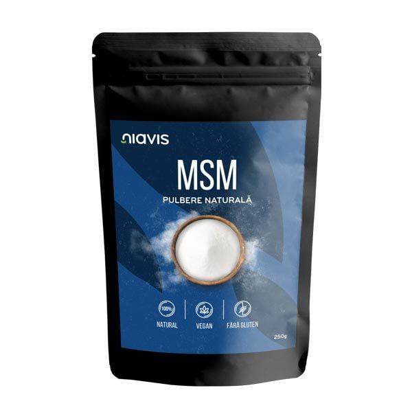 Msm Pulbere Naturala 250g NIAVIS