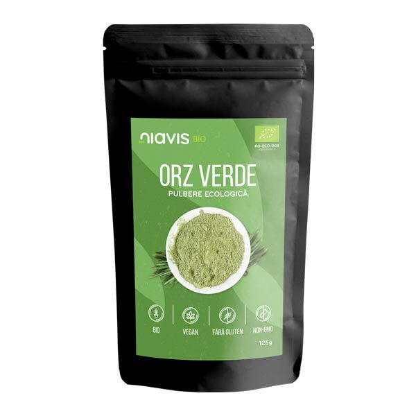 Orz Verde Pulbere Ecologica (Bio) NIAVIS 125g