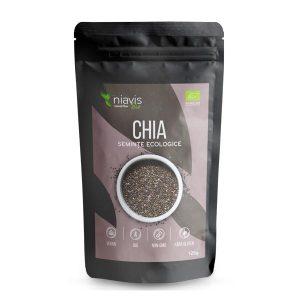 Seminte de Chia Ecologice (Bio) NIAVIS 125g