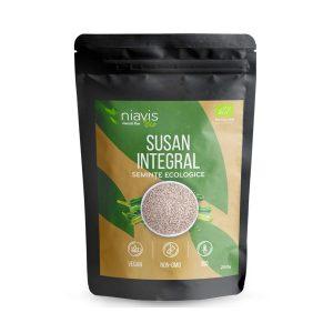 Seminte de Susan Integral Ecologice NIAVIS 250g