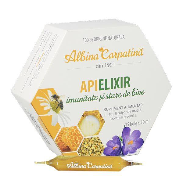 Apielixir Albina Carpatina 15 fiole* 150ml