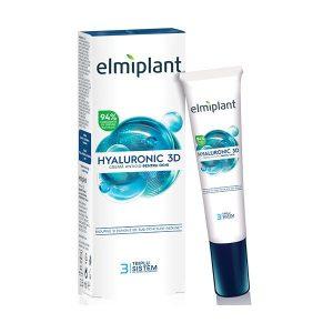 Hyaluronic 3D Crema Antirid pentru Ochi Elmiplant 15ml