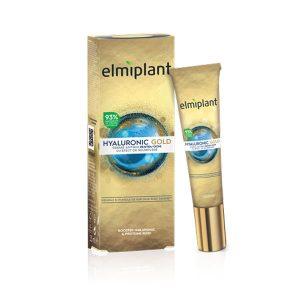 Hyaluronic Gold Cremă antirid pentru ochi cu efect de umplere Elmiplant 15ml