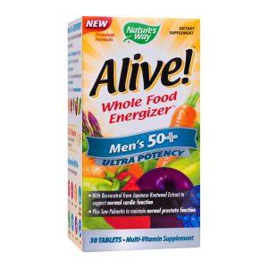 Alive Men's 50+ Ultra Secom Nature's Way 30tb