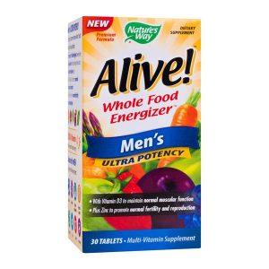 Alive Men's Ultra Secom Nature's Way 30tb