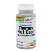 Thymus Plus Caps Secom Solaray 60cps