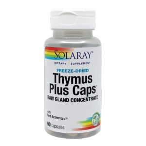 Thymus Plus Caps Secom Solaray 60cps