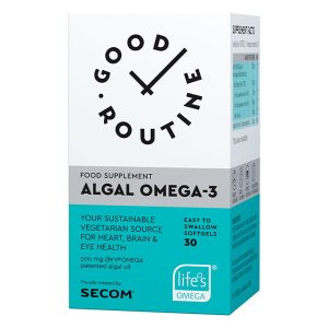 Algal Omega 3 Good Routine Secom 30cps