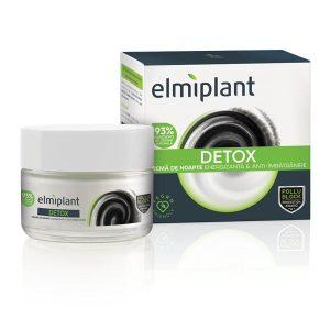 Detox Crema de noapte energizanta si anti-imbatranire Elmiplant 50ml