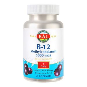 Methylcobalamin Vitamina B12 Secom 5000mcg 60cpr (Metilcobalamina)