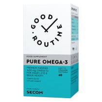 Pure Omega-3 Good Routine Secom 60cps