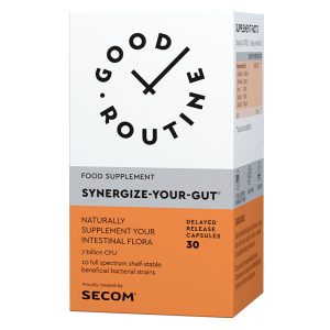 Synergize Your Gut Good Routine Secom 30cps