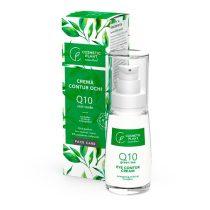 Cremă contur ochi Q10 si Ceai Verde Cosmetic Plant 30ml