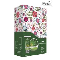 Set Cadou Body Cosmetic Plant - Crema Corp Masline+Exfoliant