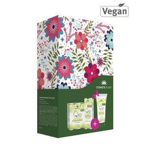 Set cadou Q10 si ceai verde Cosmetic Plant