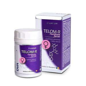 Telom-R Fertilitate Femei DVR Pharm 120cps
