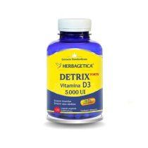 Detrix Forte Herbagetica Vitamina D3 5000UI 120cps