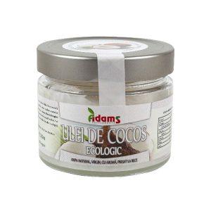 Ulei de Cocos Ecologic Adams Presat La Rece 200ml