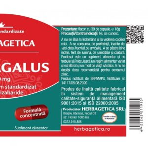 Astragalus Herbagetica 500 mg 30cps