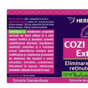 Cozi de Cirese extract Herbagetica 30cps