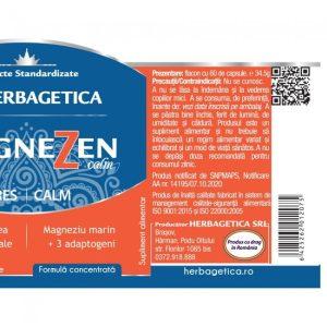 MagneZen Herbagetica 60cps