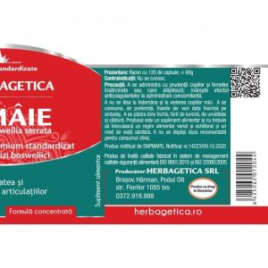 Tamaie Boswellia Serrata Herbagetica 120cps