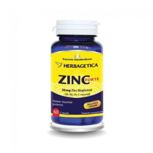 Zinc Forte Herbagetica 60cps