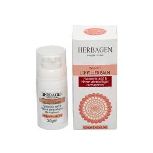 Balsam Buze Acid Hialuronic si Colagen Herbagen 30g
