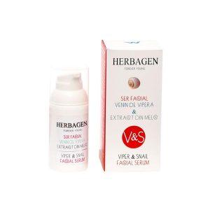 Ser Facial cu Venin de Vipera si Extract de Melc Herbagen 30g